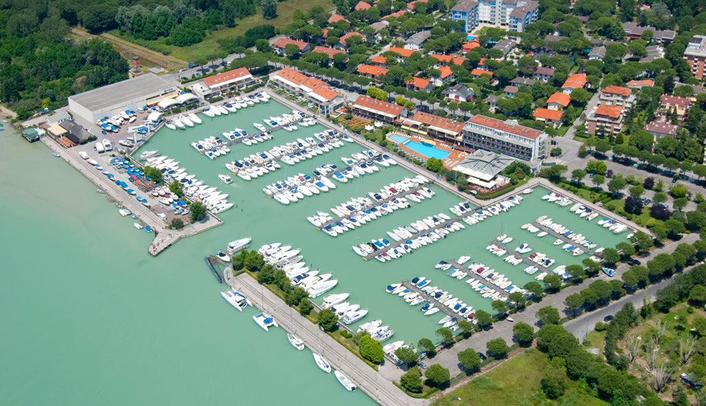 Berth at the tourist port Marina Uno in Lignano Riviera