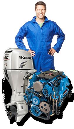 Assistenza e riparazione di motori disel e a benzina, per la vostra sicurezza